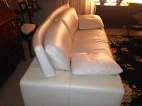 High quality Himolla leather sofa - 210cms wide