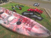 Kayak 2 seater + 1