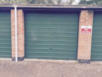 Single garage for rent
