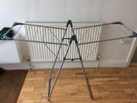 Small clothes horse drying rack