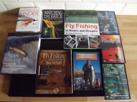 FLY FISHING: Essential Books and DVDs.