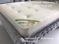 ✅✅ REAL LUXURY ~ FULL POCKET SPRUNG ~ HOTEL QUALITY ORTHO MATTRESSES