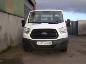 Ford transit single cab tipper