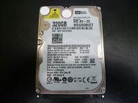 western digital 320GB SATA laptop hard drive