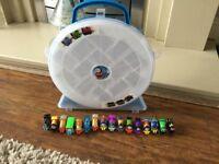 Thomas and friends full case of mini trains including superhero trains