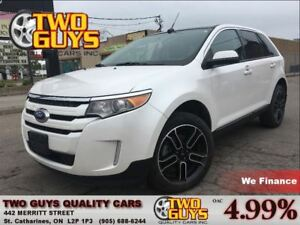 2014 Ford Edge SEL PANOROOF APPEARANCE PKG ALLOYS