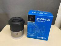 Minolta AF 28-100 F3.5-5.6 D Camera Lens for Sony Alpha Cameras