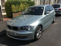 BMW 1 Series 2.0 120i SE 5dr. Fully serviced recently. MOT til March 2019. £3000 ONO.