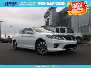 2014 Honda Accord EX-L COUPE - LEATHER, SUNROOF, NAV, BACK-UP CA