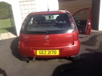 Vauxhall corsa for saie 1229cc Twinport good order had this wee car 10 years
