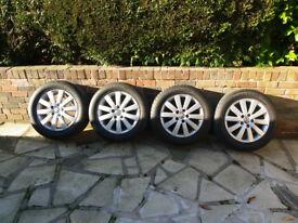 "VW T5 wheels Neva (borbet) 17"" Caravelle Executive Alloys And Tyres"