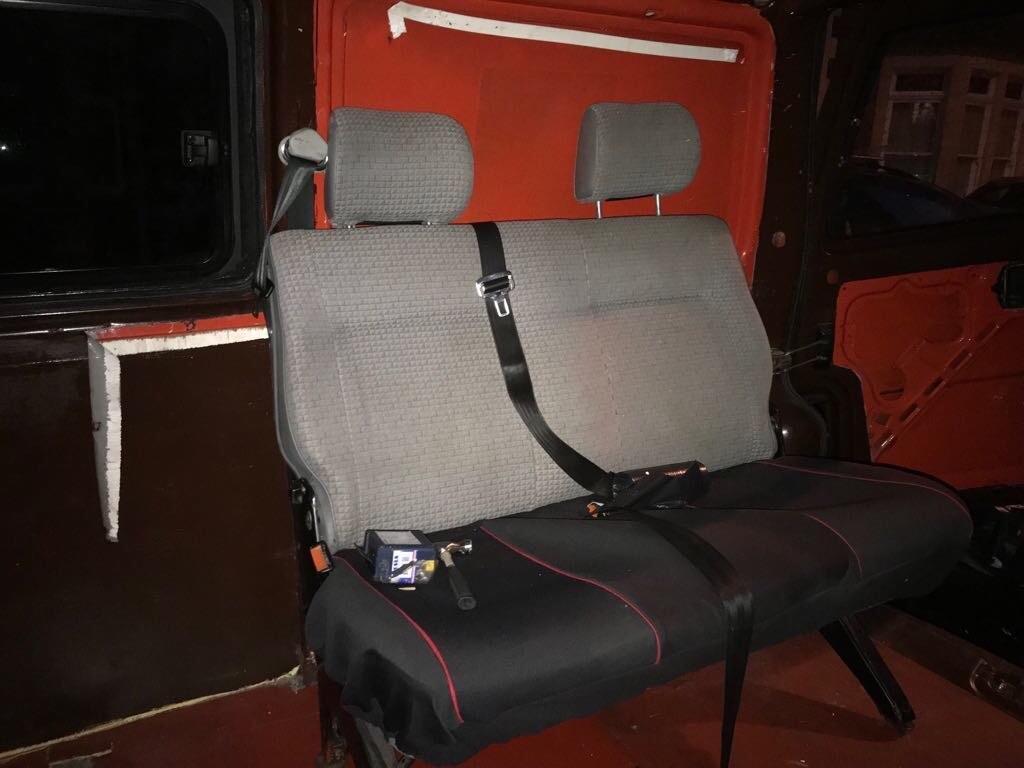 VW Double Seat