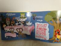 Pop Up Book Alice in Wonderland Excellent Condition