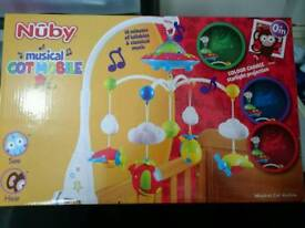 Cot mobile baby unwanted gift new in box
