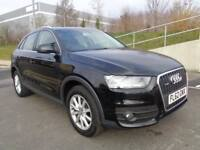 2012 AUDI Q3 QUATTRO AUTOMATIC PETROL 2.0TFSI, LOW MILES CATD,LEATHER INTERIOR, 3 MONTHS WARRANTY
