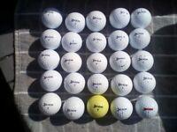 25 good condition Srixon golf balls