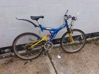 Mountain Bike Full Suspension Large Frame ** i can deliver **