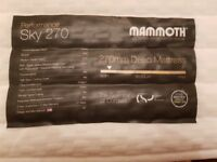 Mammoth Mattress - Performance Sky 270 - King Size - COST £1,299!!