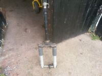 piaggio ZIP front forks spare part