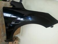 FORD FOCUS 2008-2011 BRAND NEW INSURANCE APPROVED FRONT WING in PANTHER BLACK
