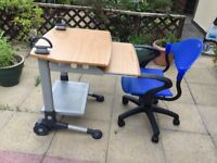 Desk & chair. NOW SOLD