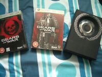 Gears Of War !1 2 & 3 All Limited Editions For XBOX 360 SWAP For FIFA 17 XBOX 360