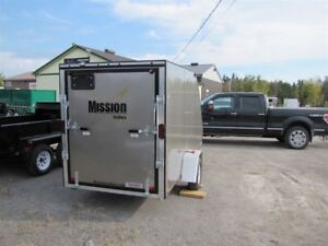 2017 Mission Trailers Single Sled Trailer MFS60X12 CROSSOVER