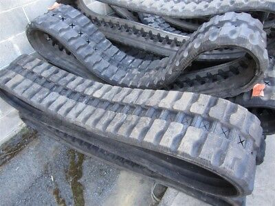 Used 15 Rubber Track - Fits Case Loegering - 375x86x50
