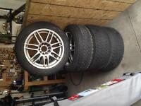 17 inch ARCTIC CLAW winter tires with alloy rims