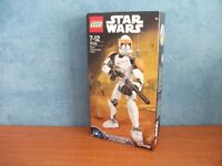 NEW AND SEALED LEGO STAR WARS CLONE COMMANDER CODY