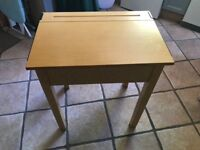 Childrens old style school desk