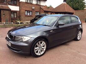 57 plate BMW 118d se, 127k miles, 2 owners, FSH, £30 a year road tax, £2950
