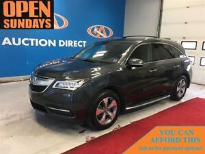 2014 Acura MDX AWD! SUNROOF! 3 ROW SEATING! FINANCE NOW!