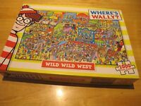 Jigsaw - 1000 pieces Where's Wally
