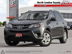 2015 Toyota RAV4 LE Very reliable and fuel efficient engine -...