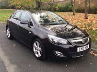 Black Vauxhall Astra 1.6 i VVT 16v SRi Petrol Manual 5dr Hatchback - P/X Welcome