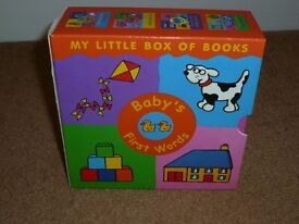 Box of books, Baby's first words