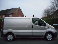 FINANCE ME!! NO VAT!! Renault Trafic SL27 DCI 100 SWB Panel Van. 1 Previous Owner and FULL MOT!!