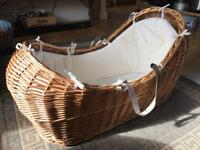 Mothercare premium Moses Basket