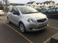 Toyota Yaris 1.0 Petrol Manual 3 Door Hatchback Silver 2006 Stunning Car