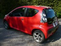red 3 door citroen c1 mot failure, £550 ono