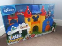 Fisher Price little people Mickey mouse castle play set