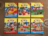 6 x Make Way For Noddy Paperback Books