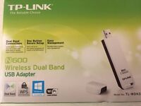 TP Link - N600 wireless dual band USB adapter
