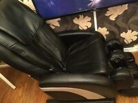 Massage chair. Used once. Practically new.