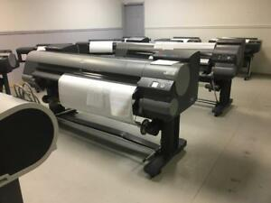 "60"" Canon imagePROGRAF iPF9400 9400 Large Format Graphic Arts Printer Printing Shop Copy Machine REPOSSESSED LIKE NEW"