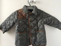 "Boys' Padded Tweed Jacket Aged 1-1.5yrs from ""Next"""