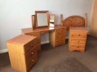 Schreiber pine bedroom furniture
