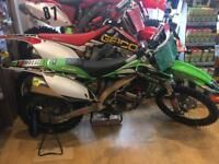 2015 kxf 450 efi fuel injection good as new condition