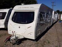 2008 Avondale Celtic (Dart) 545 4 Berth Side Dinette End Washroom Caravan with Motor Mover